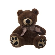 Roly Junior Teddy Bear Dark Brown (18cmST)