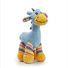 Baby Teddy Bears - Gabby Giraffe Bright Striped Blue (30cmST)