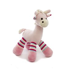 Baby Rattles - Thomas Giraffe Rattle Light Pink (23cmH)