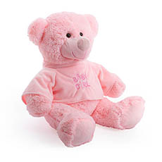 Giant Teddy Bears - Baby Cakes Teddy Bear Light Pink (56cmHT)