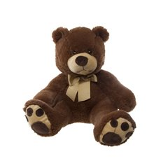 Teddy Bear Mojo Dark Brown (45cmHT)