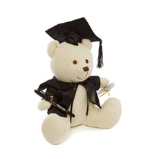 Graduation Teddy Bears - Graduation Signature Teddy Bear with Pen Cream (25cmST)