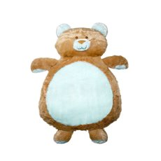 Baby Mat Teddy Bear Shape Blue (90cmHT)