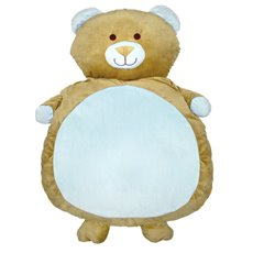 Baby Teddy Bears - Baby Mat Teddy Bear Shape Blue (90cmHT)