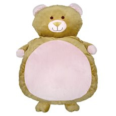 Baby Teddy Bears - Baby Mat Teddy Bear Shape Pink (90cmHT)