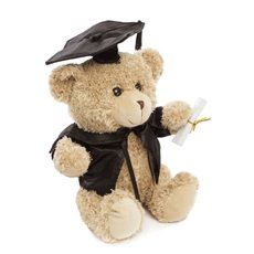 Graduation Teddy Bears - Graduation Teddy Bear Smarty Pants Light Brown (25cmST)