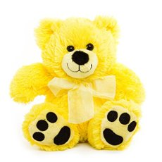 Roly Junior Brights Teddy Bear Yellow (18cmST)