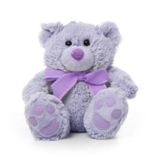 Roly Junior Teddy Bear Lavender (18cmST)