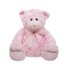 Georgie Teddy Bear Pink (30cmST)