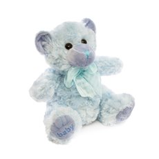 Georgie Teddy Bear Baby Boy Blue (20cmST)