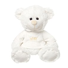 Baby Cakes Teddy Bear White (56cmHT)