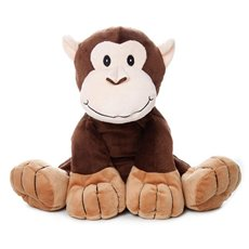 Marty Monkey Jungle Super Soft Brown (25cmST)