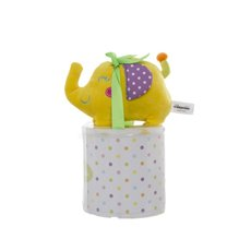 Eddy Elephant Gift Pack with Blanket Yellow