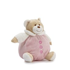 Baby Teddy Bears - Snuggle Roly Poly Teddy Bear Pink (15cmST)