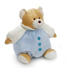 Baby Teddy Bears - Snuggle Roly Poly Teddy Bear Blue (25cmST)