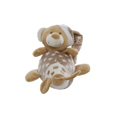 Starbright Teddy Bear Aeroplane Toy Brown (14x16cmH)