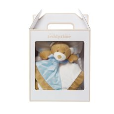 Starbright Gift Pack Teddy Security Toy and Blanket Blue