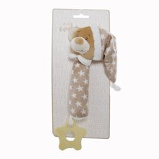 Starbright Teddy Bear Hand Squeaker Brown (16cm)