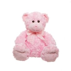 Georgie Teddy Bear Pink (25cmST)