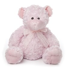 Georgie Teddy Bear Pink (40cmST)
