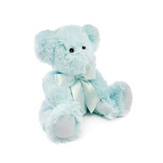 Baby Teddy Bears - Jade Jointed Teddy Bear Light Blue (25cmHT)
