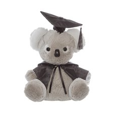 Graduation Teddy Bears - Graduation Koala Bear Grey (25cmST)