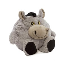 Farm Animal Soft Toys - Darrel Puffy Donkey (25cmH)