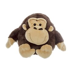 Mike Puffy Monkey Brown (25cmH)