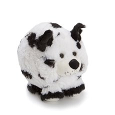 Dog & Cat Soft Toys - Rex Dog Black & White (22cmH)