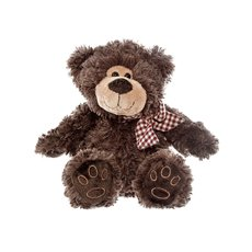 Eddy Teddy Bear Dark Brown (20cmST)