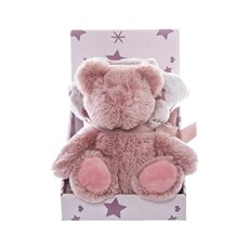 Baby Gift Packs - Audrey Teddy Bear Gift Pack Dusy Pink (16cmST)