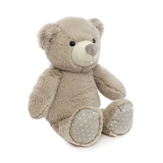 Baby Teddy Bears - Griffin Teddy Bear Grey (25cmST)