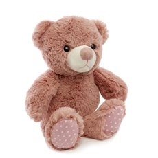 Baby Teddy Bears - Clara Teddy Bear Dusty Pink (25cmST)