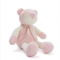 Baby Teddy Bears - Mia Teddy Bear Pink (25cmHT)