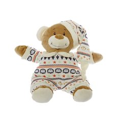 Baby Teddy Bears - Jasper Teddy with Hat Blue (22cmHT)