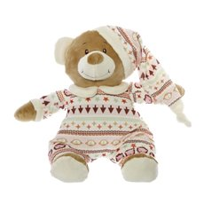 Baby Teddy Bears - Grace Teddy with Hat Pink (22cmHT)