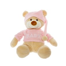 Baby Teddy Bears - Alice Teddy Bear with Shirt Baby Pink (28cmHT)