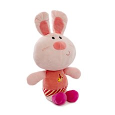 Easter Soft Toys - Lila Bunny Rabbit Multi (23cmST)