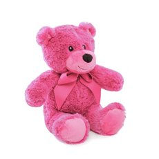 Jelly Bean Teddy Bear Hot Pink (20cmST)