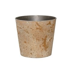 Flora Flower Pots & Planters - Flora Atlantis Pot Round (17Dx15.5cmH) Copper
