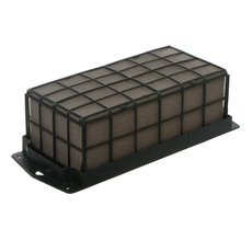 Dry Floral Foam - Dry Strass Deco Brick with Plastic Cage Single (23x11x8cmH)