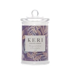 Scented Candle Jars & Containers - Scented Jar Candle Eden Bergamot Leaf & Eucalyptus(8x15cmH)