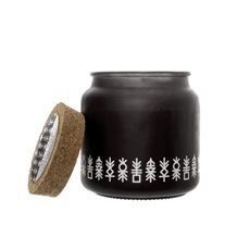 Scented Candle Jars & Containers - Scented Candle Oliver Black Ambergris (10x10cmH)