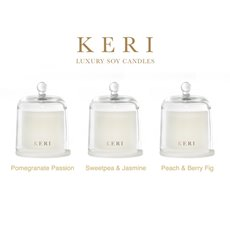 Keri Soy Candle Fragrance Samplers Set 3 Refreshing