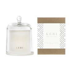 Keri Limited Soy Candles - White Ginger Lily Keri Soy Candle Ellie Cloche 285g