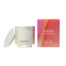 Keri Limited Soy Candles - Jasmine & Rose Oasis Keri Soy Candle Aurora Collection 140g