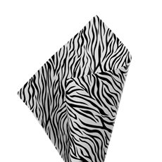 Cello Regal Zebra Print 65mic 100Pk sheets (50x70cm) Blk/Wht