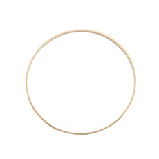 Wreath Supplies - Wooden Bamboo Rings Natural (26cmD)