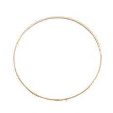 Wreath Supplies - Wooden Bamboo Ring Natural (30cmD)