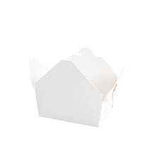 Patisserie & Cake Boxes - Food Pail Pack No.1.5 White (140x110x60mmH)